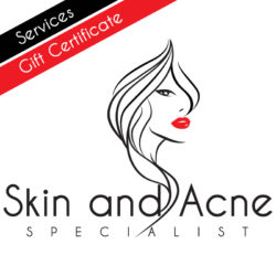 Gift Certificate for Acne and Skin Services