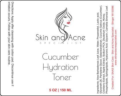 New Product! Cucumber Hydration Toner!